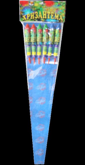 Набор ракет Хризантема 6шт. RK-1