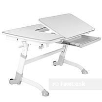 Комплект подростковая парта Amare Grey + детский стул SST3L Green FunDesk , фото 3