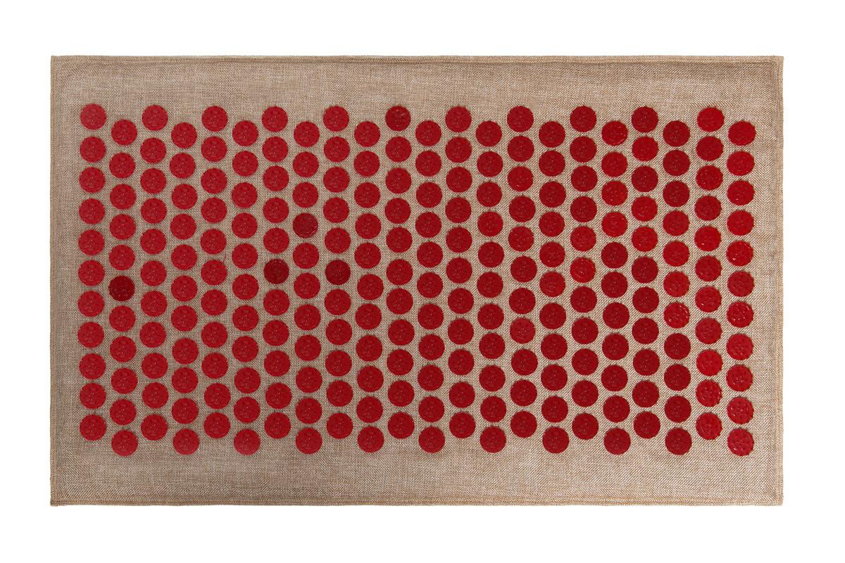 Коврик массажный Onhillsport Аппликатор Кузнецова Lounge Medium 68 x 42 см LS-1001-1 Red