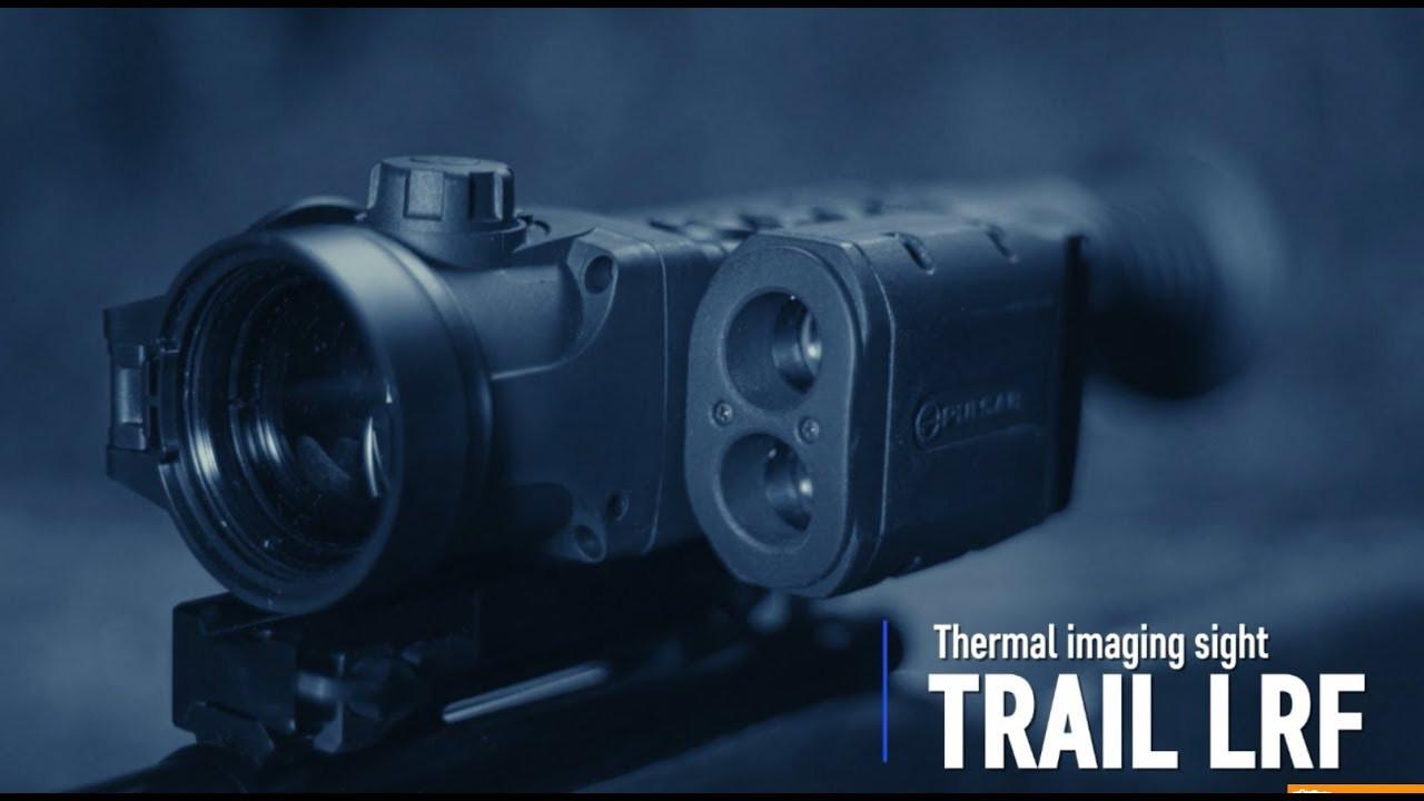 В наличии тепловизионный прицел Pulsar Trail LRF XP50