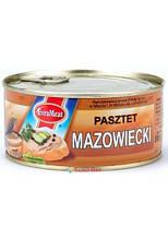 Паштет свинной  Evra Meat Pasztet Mazowiecki, 300г