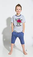 Пижама детская (шорты и футболка) Taro 122-140 см (2216-01 Alan)