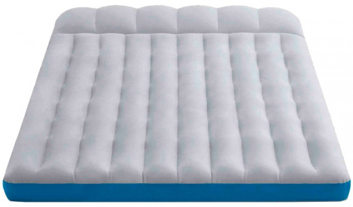 Надувной матрас кемпинговый двухспальный Intex 127*193*24см