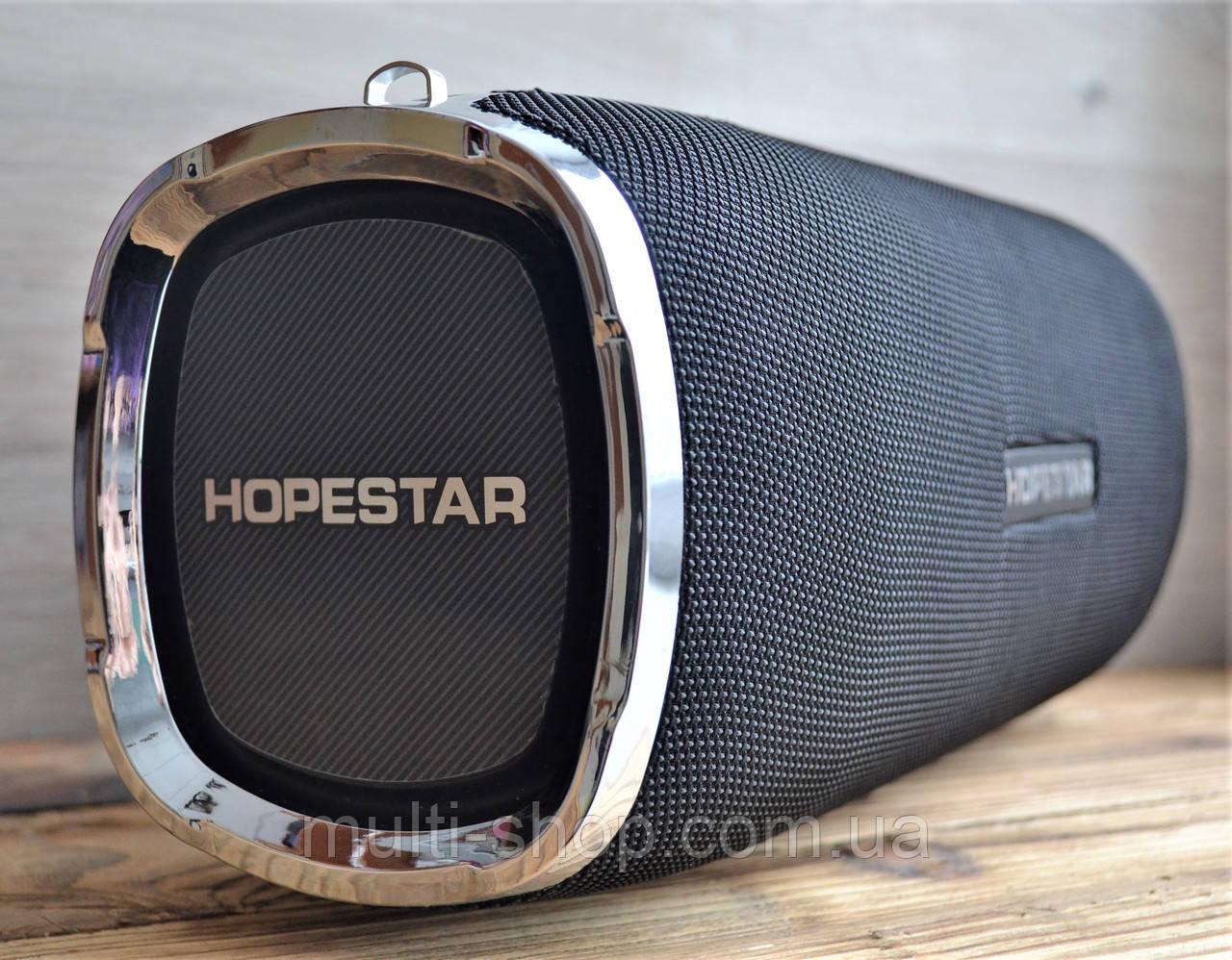 Бездротова блютуз калонка HOPESTAR A6/ портативна акустика bluetooth 35W