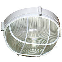 Свет-к LEMANSO круг метал. 100W с реш. BL-1102 белый/черный