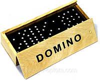 Домино в деревянном футляре 15*3*4см №В15623, фото 1