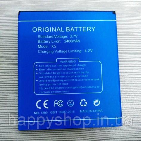 Акумуляторна батарея для Doogee X5/X5s/Pro X5 оригінал, фото 2