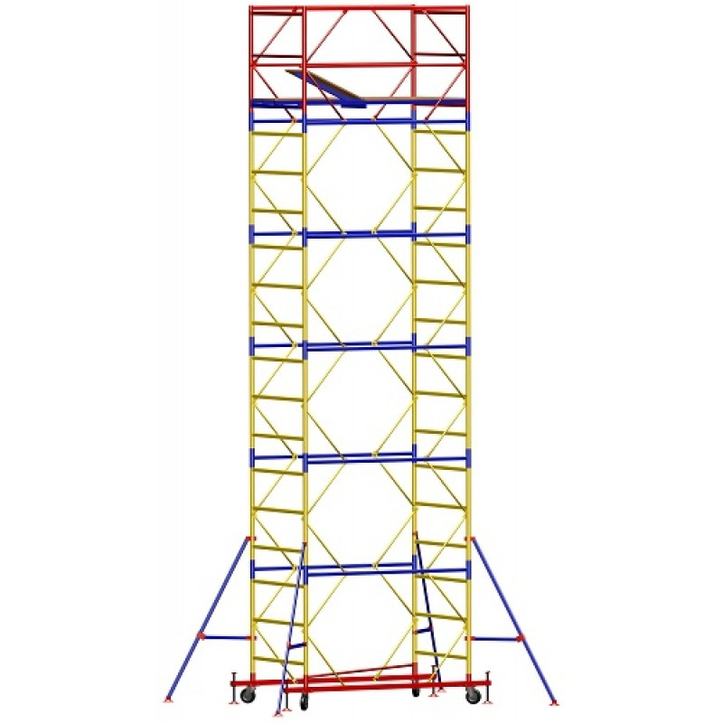 Ышка - тура - ширина 2,0 м, длина 2,0 м, высота настила - 6,6 м, рабочая высота - 8,6 м
