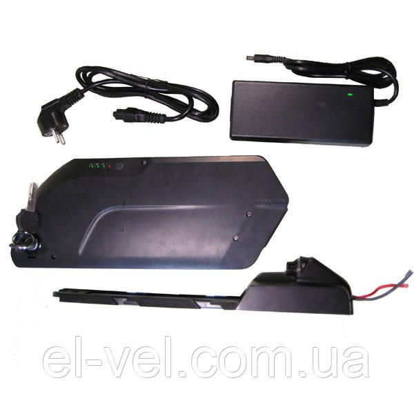 Аккумуляторная батарея 36В 12/15/18Aч USB (SAMSUNG) литиевая (корпус TigerShark) с зарядным 2А