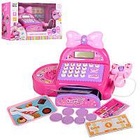 Игровой набор Касса - Мой Магазин Супермаркет, кассовый аппарат, сканер, монеты, звук, KDL888-7