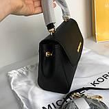 Сумка, клатч, Майкл Корс Michael Kors Ava 18 см, шкіряні, колір чорний, фото 7