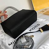Сумка, клатч, Майкл Корс Michael Kors Ava 18 см, шкіряні, колір чорний, фото 4