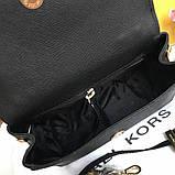 Сумка, клатч, Майкл Корс Michael Kors Ava 18 см, шкіряні, колір чорний, фото 8