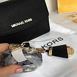 Сумка, клатч, Майкл Корс Michael Kors Ava 18 см, шкіряні, колір чорний, фото 2