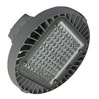Світлодіодний підвісний світильник для високих прольотів ЛІД ОМЕГА LH-200Вт/750-201 S90 D460H160 GR, фото 1
