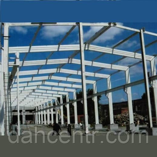 "Склад тип ""Орск"" ангар 18х42 , фермы, навес, цех, производство, каркас, фото 1"