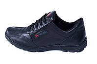 Мужские кожаные кроссовки ZK