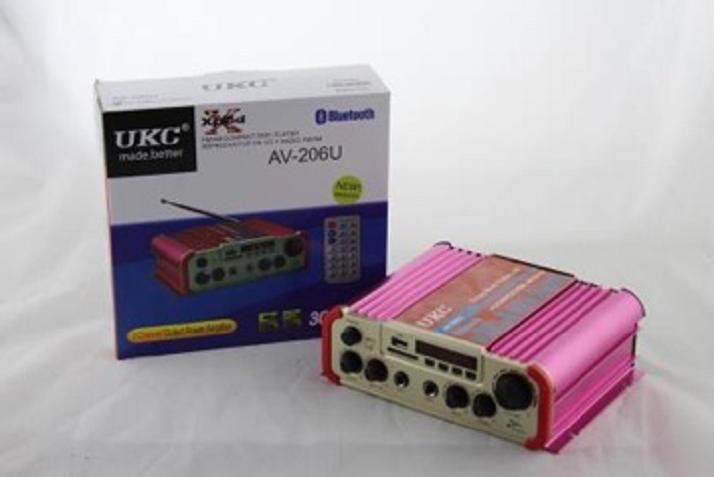 Усилитель звука AMP AV 206 BT
