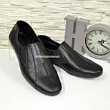 Туфли-мокасины кожаные мужские, размеры с 39 по 45, фото 3