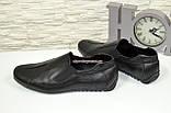 Туфли-мокасины кожаные мужские, размеры с 39 по 45, фото 4