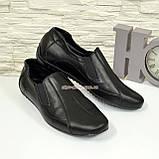 Туфли-мокасины кожаные мужские, размеры с 39 по 45, фото 5