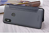 Nillkin XIAOMI Redmi Note 6 Pro Gray NEW LEATHER CASE чехол - книжка, фото 2