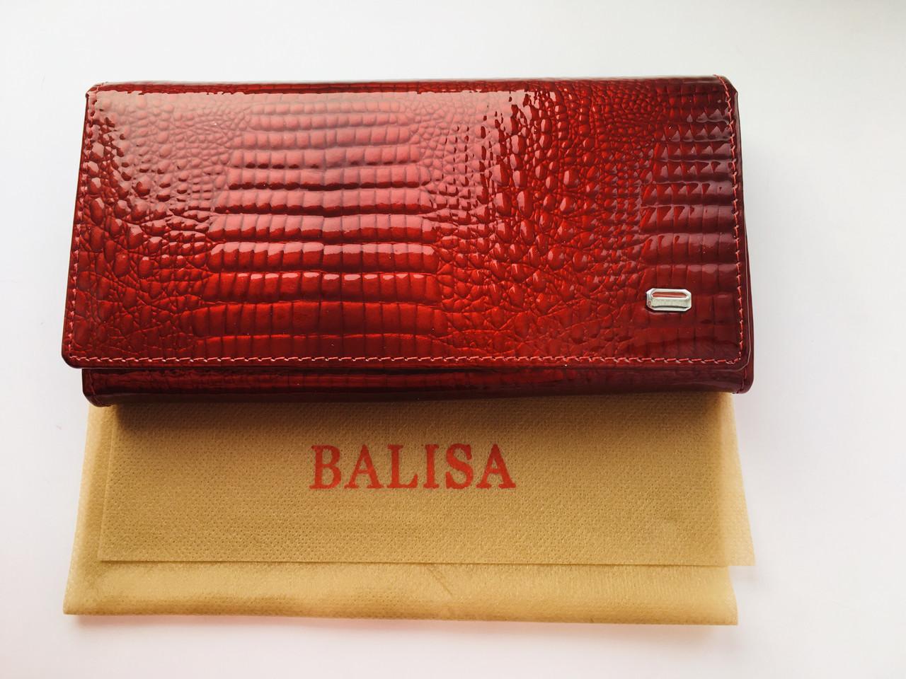 3abe830b8ad8 Лакированный кошелек из натуральной кожи Balisa Красный, цена 449 ...