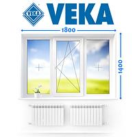Німецьке Вікно VEKA,(180*140 см.), Ромни