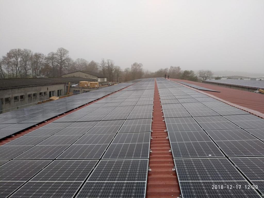 Сетевая СЭС 211 кВт, Германия, Грабо