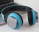 Наушники с Bluetooth GORSUN GS-E89 беспроводные синего цвета, фото 3