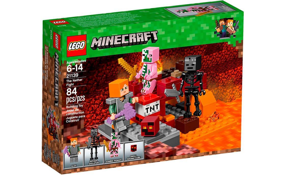 4fb5dd168 LEGO Minecraft Битва в Нижнем мире - Храни Киев - видеонаблюдение,  домофоны, охранные системы