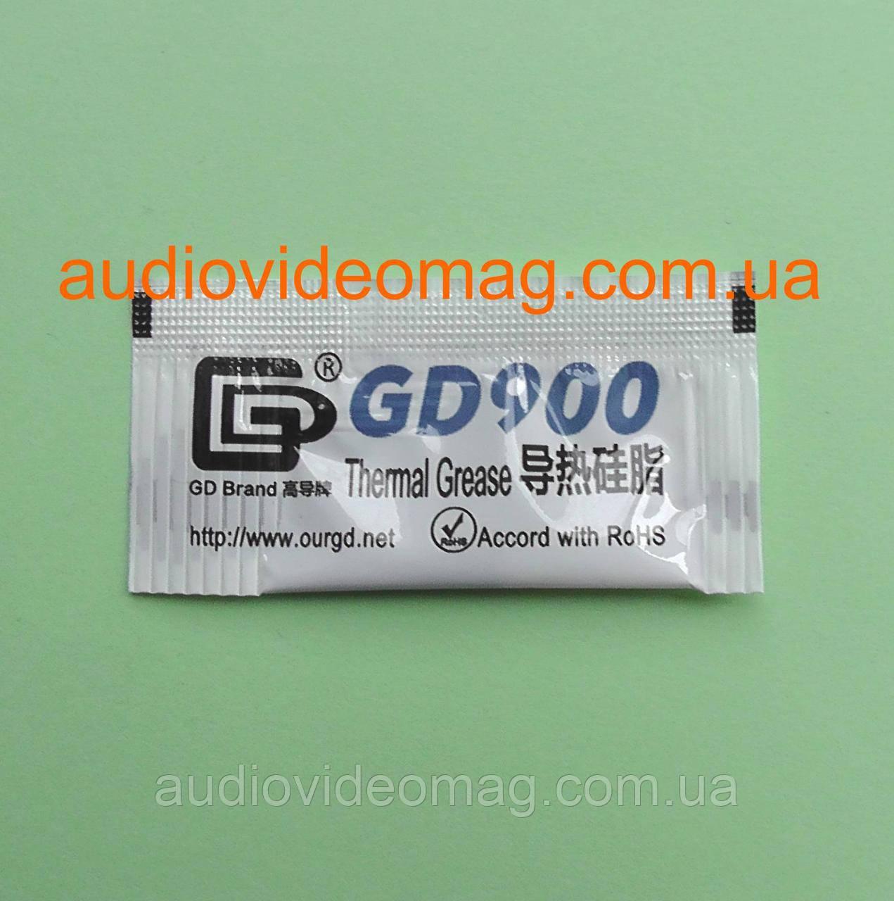 Термопаста Termal Grease GD900 (К/т > 4,8W/m-k), вес 0.5 грамм
