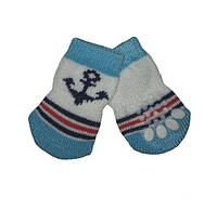 Носки для собак «Якорь», размер S 4 шт.