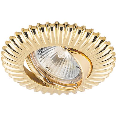 Точечный встраиваемый светильник Feron DL6213 золото