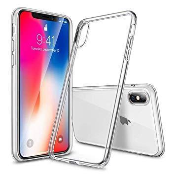 Силиконовый прозрачный чехол на iPhone X (10) ОПТ
