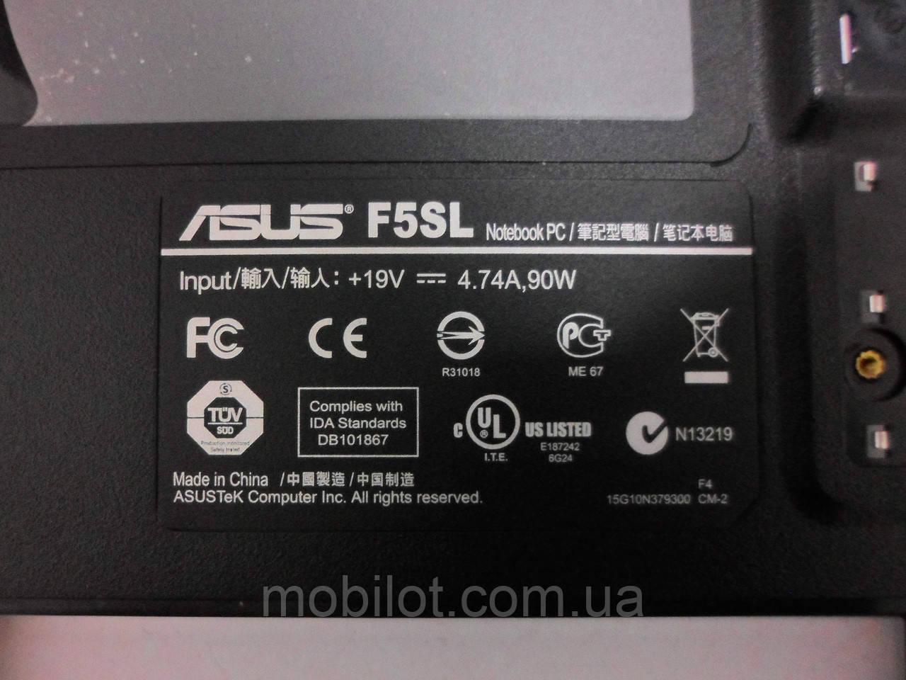 Корпус Asus F5SL (NZ-8322) 3