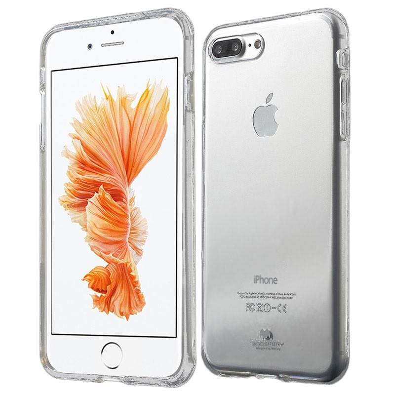 Силиконовый прозрачный чехол на iPhone 7 Plus (7+) ОПТ