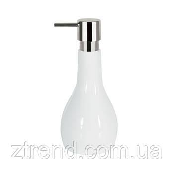 Дозатор для жидкого мыла Spirella BALI белый