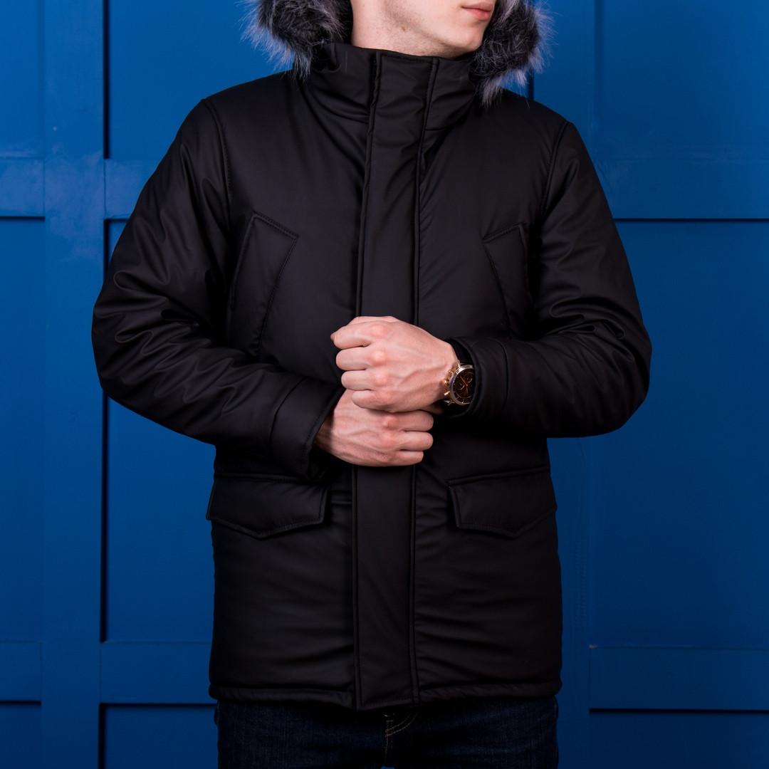 Куртка мужская зимняя черная. Куртка чоловіча зимова.ТОП КАЧЕСТВО!!!