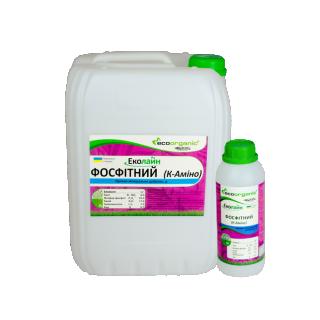 Добриво Фосфітний К-Аміно, фосфор 25%+амінокислоти 7% тара 20л, удобрение Екоорганік