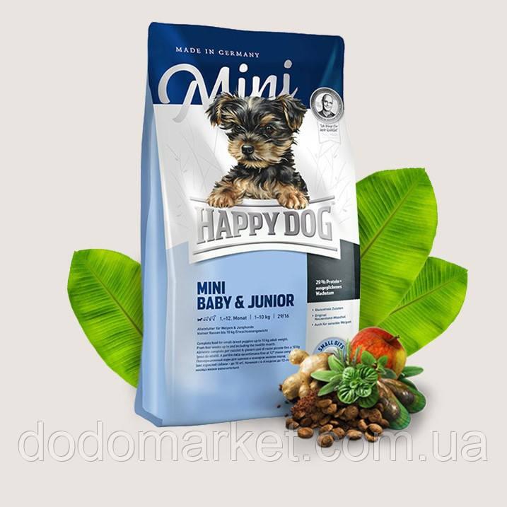 Сухой корм для щенков Happy Dog Supreme Mini Baby and Junior 10 кг