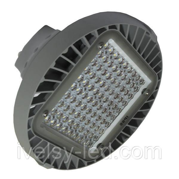 Светодиодный подвесной светильник для высоких пролетов ЛЕД ОМЕГА LH-110Вт/850-120 S90 D360H155 GR