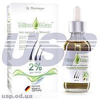 MinoMax  2% (МиноМакс 2%) миноксидин от выпадения волос для быстрого роста волос ТОВ Миноксидил груп