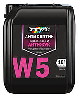 Антисептик «АНТИЖУК» W5 Kompozit (бесцветная) 5 л