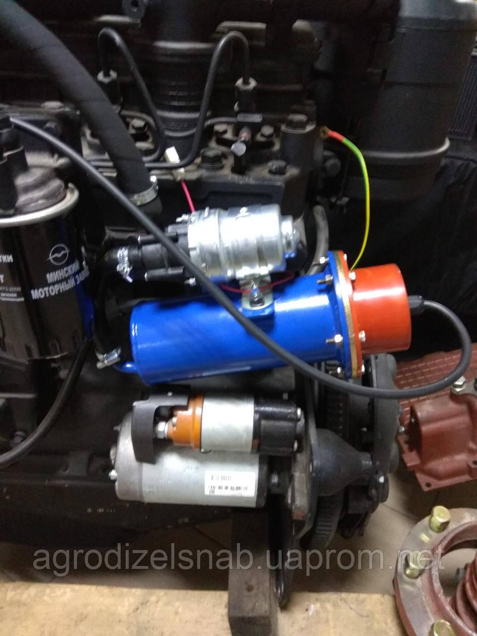 Подогреватель предпусковой блока МТЗ (1800W - 220V) с помпой