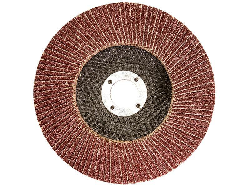 Круг лепестковый торцевой (КЛТ) 125х22 Р80