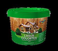 Тиксотропная лазурь для древесины COLORTEX Kompozit (белый) 0,9 л