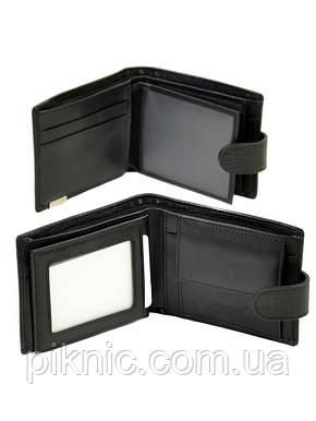 """Кожаный мужской кошелек  Bretton. Black Edition """"Рептилия"""", фото 2"""