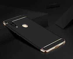Чехол с золотыми вставками для Huawei Honor 8X (2 Цвета)