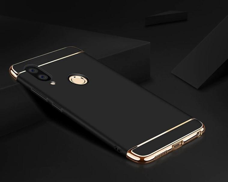 0b6e2e4fecc9e Чехол с Золотыми Вставками для Huawei Honor 8X (2 Цвета) — в ...